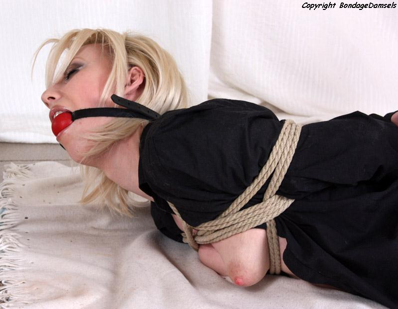 Bondage Topless Photo