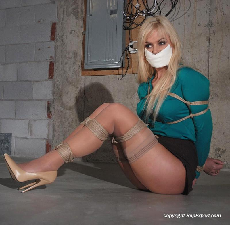 Bound and Tape Gagged