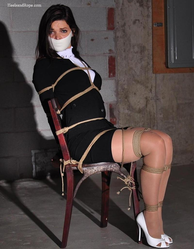 secretary damsel bondage LoveTied Free Bondage Photos » Blog Archive » Secretary Brooke Sequestered  in the Basement