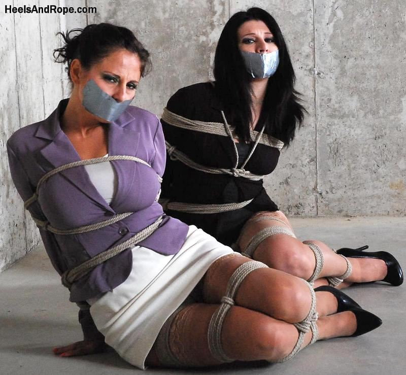 Basement Hostages, Betty Jaded & Lola Lynn are the Bound Secretaries