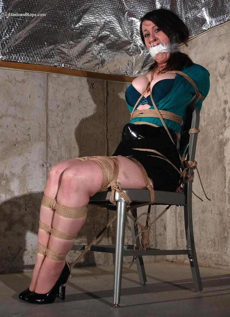 Serene Isley in Brutal Basement Bondage
